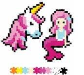 Puzzle 700 Pixelki Jixelz Bajkowi przyjaciele