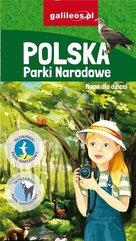Mapa dla dzieci - Polska. Parki Narodowe
