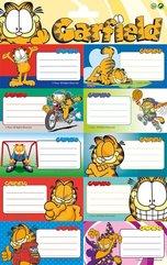 Naklejki na zeszyt Garfield 20szt.