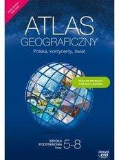 Atlas geograficzny SP Polska, kontynenty... w.2020