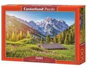 Puzzle 500 Lato w Alpach CASTOR
