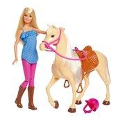 Barbie. Lalka + Koń podstawowy