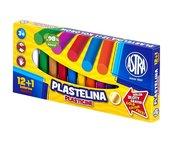 Plastelina 12+1 kolorów ASTRA