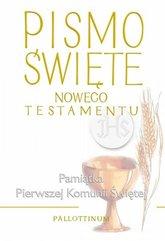 Pismo Święte - Nowy Testement duże (komunia)