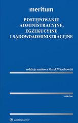 MERITUM Postępowanie administracyjne, egzekucyjne i sądowoadministracyjne