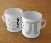Kubek - Matematyka. Literka Pi