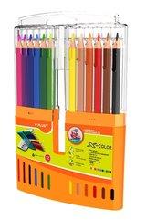 Kredki ołówkowe X-color pudełko 12 kol