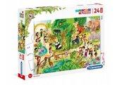 Puzzle 24 maxi Super kolor Zoo