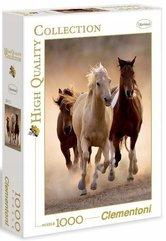 Puzzle 1000 HQ Running horses