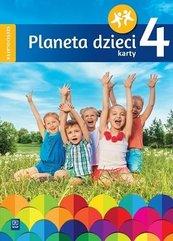 Planeta dzieci. Sześciolatek Karty pracy cz.4 WSiP