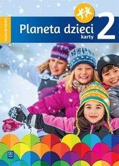 Planeta dzieci. Sześciolatek Karty pracy cz.2 WSiP