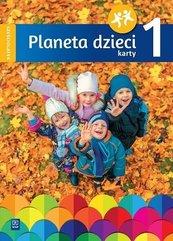 Planeta dzieci. Sześciolatek Karty pracy cz.1 WSiP
