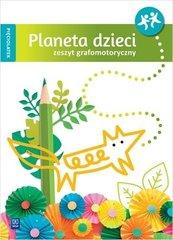 Planeta dzieci Pięciolatek. Zeszyt grafomotoryczny