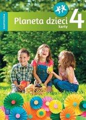 Planeta dzieci. Pięciolatek. Karty pracy cz.4 WSiP