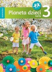 Planeta dzieci. Pięciolatek. Karty pracy cz.3 WSiP