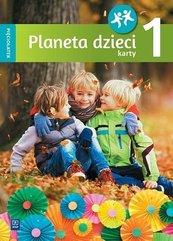 Planeta dzieci. Pięciolatek. Karty pracy cz.1 WSiP