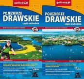 Mapa turystyczna -Pojezierze Drawskie (komplet)