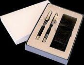 Pióro wieczne + długopis Lotus i etui