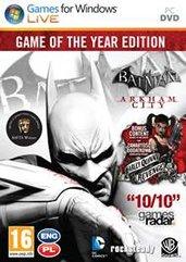 Batman: Arkham City: Game of the Year Edition (PC) PL klucz Steam