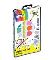 Farby wodne 24 kolory FIORELLO
