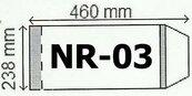 Okładka na podr B5 regulowana nr 3 (25szt) NARNIA