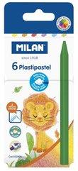 Kredki świecowe Plastipastel 6 kolorów MILAN