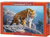 Puzzle 500 Tygrys na skłach CASTOR