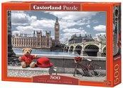 Puzzle 500 Mała wycieczka do Londynu CASTOR