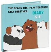 Pamiętnik na kłódkę We Bare Bears