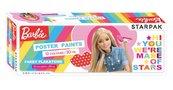 Farby plakatowe Barbie 12 kolorów