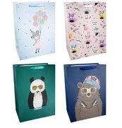 Torba prezentowa 31x42 Panda Niedźwiedź