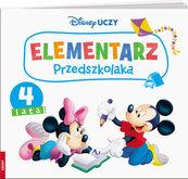 Disney Uczy Miki Elementarz przedszkolaka 4 lata