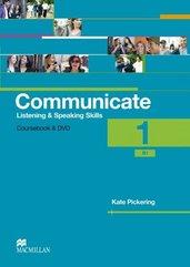Communicate 1 Książka ucznia + DVD-Rom MACMILLAN