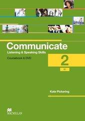 Communicate 2 Książka ucznia + DVD-Rom MACMILLAN