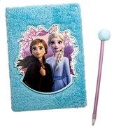 Pluszowy pamiętnik z długopisem Kraina Lodu 2