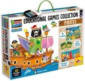 Kolekcja gier edukacyjnych Piraci