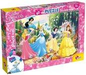 Puzzle dwustronne Plus 60 Disney Princess