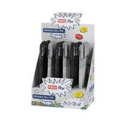 Długopis wymazywalny niebieski BL-1 (24szt) EASY