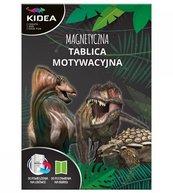 Tablica motywacyjna magnetyczna Dinozaury DERFORM