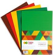 Tektura falista A4/5K mix Forest HAPPY COLOR