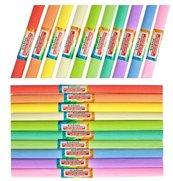 Bibuła marszczona pastel mix (10szt)