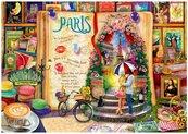 Puzzle 1000 Życie to otwarta ksiega - Paryż