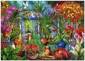 Puzzle 1000 Tropikalny domek Ciro Marchetti