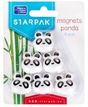 Magnes Panda 6szt