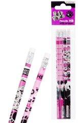 Ołówek z gumką Panda 4el