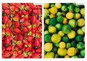 Teczka z gumką A4 Owoce