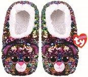 TY Fashion Dotty - Cekinowe pantofle Lampart