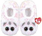 TY Fashion Diamond - Cekinowe pantofle Jednorożec