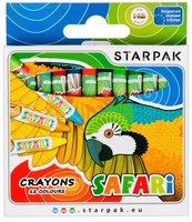 Kredki woskowe 12 kolorów Safari