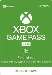 Xbox Game Pass na PC na 3 miesiace